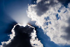 Overcast sky Royalty Free Stock Image
