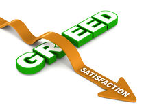 Overcome green with satisfaction Stock Photo