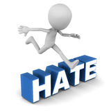 Overcome hate Stock Photos