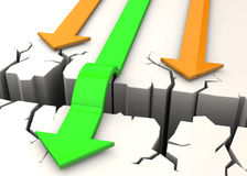 Overcome Obstacles - 3D Stock Photography