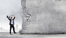 Overcoming challenges Stock Photo