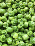 Overcooked peas Stock Image