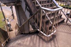 Overcrossing i Khonkaen Thailand Arkivfoton