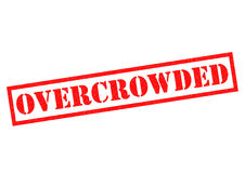 OVERCROWDED Stock Photography