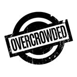 Overcrowded rubber stamp Royalty Free Stock Photos