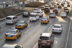 Overcrowding traffic 2 Royalty Free Stock Photography