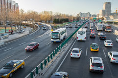 Overcrowding traffic Stock Images