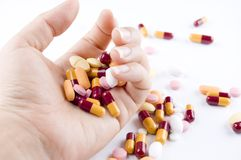 Overdose Foto de Stock