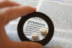 Overdosis Royalty-vrije Stock Foto's
