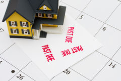 Overdue Mortgage Royalty Free Stock Images