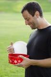 Overeating Holiday treats? Royalty Free Stock Photos