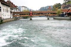 Overed Kapellenbrücke Ð ¡ Lizenzfreie Stockfotografie