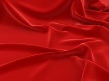 ?overed mit einem roten Stoffhintergrund Lizenzfreie Stockbilder