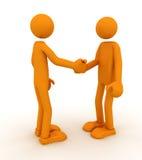 Overeenkomst stock illustratie