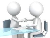 Overeenkomst. vector illustratie