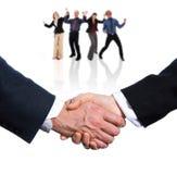 Overeenkomst! royalty-vrije stock foto