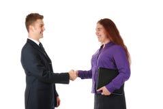 Overeenkomst! Stock Foto's