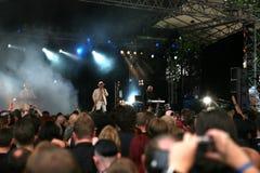 Overeenkomst - festival Amphi Royalty-vrije Stock Foto