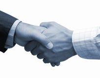 Overeenkomst in het grote bureau Royalty-vrije Stock Foto's