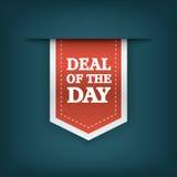 Overeenkomst van de de referentiemarkering van het dag verticale lint Royalty-vrije Stock Afbeeldingen