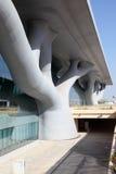 Overeenkomstcentrum in Doha, Qatar Royalty-vrije Stock Foto's