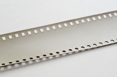 Overexposed film on a light surface Stock Photography
