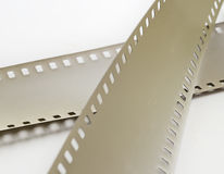 Overexposed film on a light surface Royalty Free Stock Image