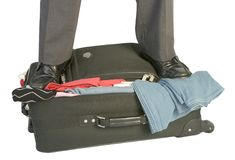 Free Overfilled Suitcase Stock Photos - 349243