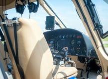 Overflight i flygplats för São Paulo Brazil helikoptercongonhas arkivfoto