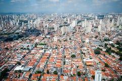 Overflight i flygplats för São Paulo Brazil helikoptercongonhas royaltyfri fotografi
