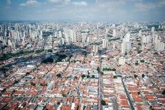 Overflight i flygplats för São Paulo Brazil helikoptercongonhas royaltyfri foto