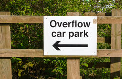 Overflow Car Park Stock Photos