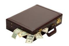 Overflow delle spese del profitto Fotografie Stock Libere da Diritti