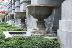 Overflow Fountain Royalty Free Stock Photography