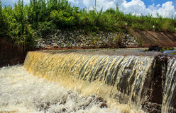 Overflow Water Weir Stock Photography
