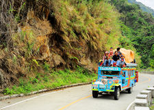 Overflowing Jeepney Stock Images
