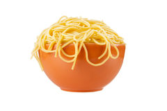 Overflowing Pasta Bowl Stock Photos