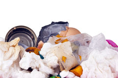 Overflowing Rubbish Royalty Free Stock Images