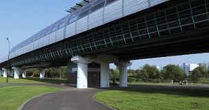 Overground metro nad park zbiory
