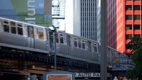Overground metro Tropi pętlę Chicago - miasto Chicago zbiory