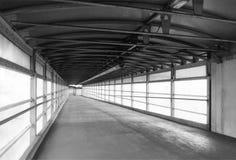Overground pedestrian bridge Stock Photos