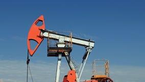 Overground przejażdżka dla odwzajemnia tłokowej pompy w szybie naftowym zbiory