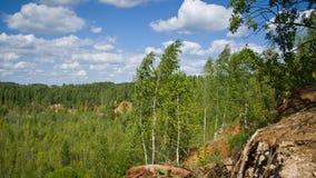 Overgrown карьер Стоковые Фотографии RF