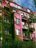 Overgrown building Stock Image