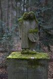 Overgrown grave stones Stock Image