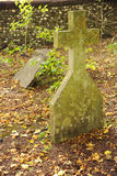 Overgrown graveyard Stock Photography