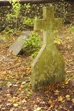 Overgrown graveyard Stock Photography