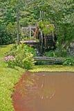 Overgrown Mill & Bridge Royalty Free Stock Photos