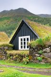Overgrown Small House in Iceland Royalty Free Stock Photo