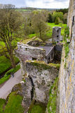 Overhead aerial view of Blarney Castle, Ireland Stock Photography
